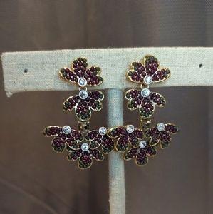 Strlla and Dot Lindley Chandelier earrings